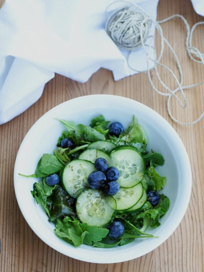 Sommersalat mit Zitronen Dressing01