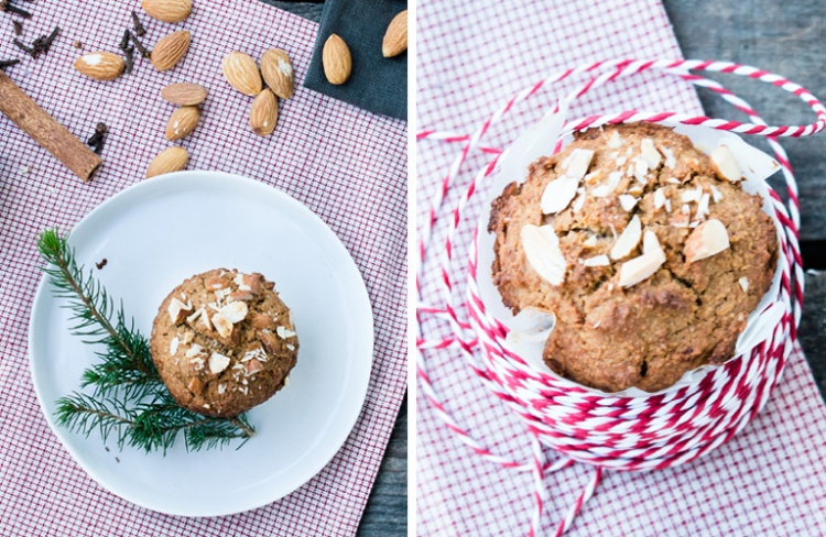 Lebkuchenmuffin-Duo-